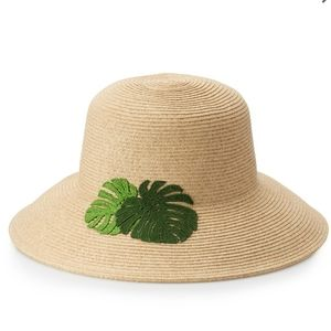 Sonoma Good for Life leaf floppy hat NWOT